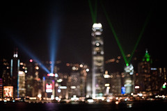 Symphony of Light (terencehonin) Tags: hongkong nikon focus bokeh manual nikkor highiso victoriaharbour symphonyoflight nikkor50mmf12 d700