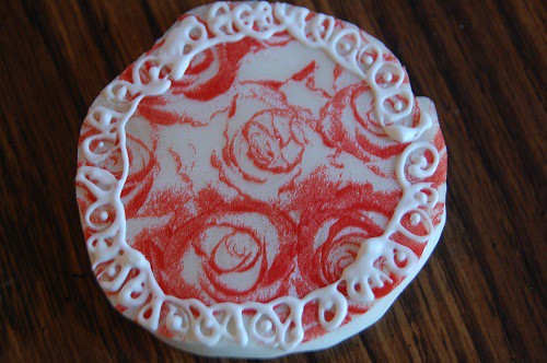 Ladies' Night Cookies in White Chocolate Rose