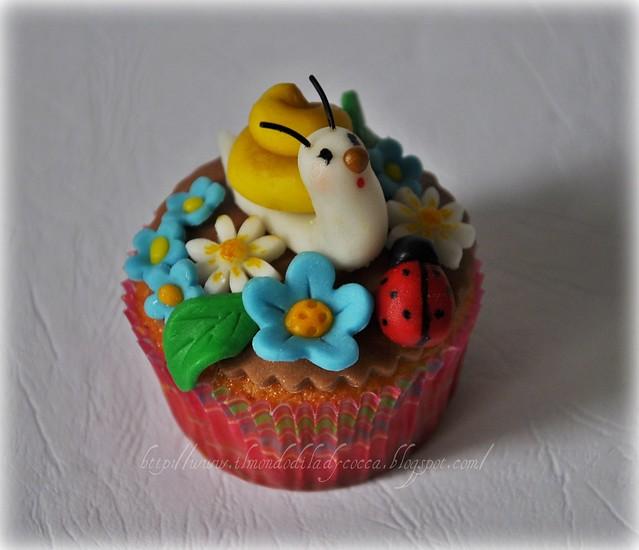 cupcake decorati ...Lumaca e Ranocchia