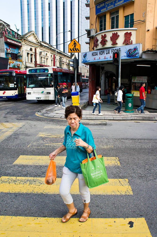 Zebra Crossing @ KL, Malaysia