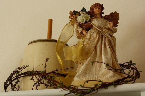 Angel with Garland