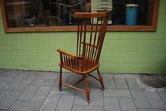 德國高背溫莎椅