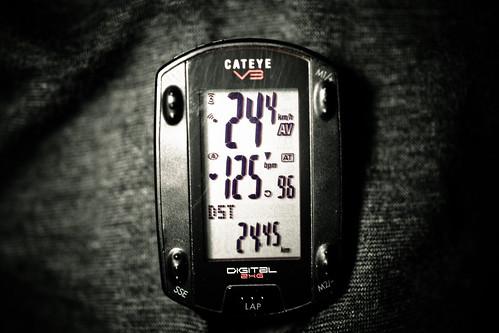60min ave24.4 24.45km