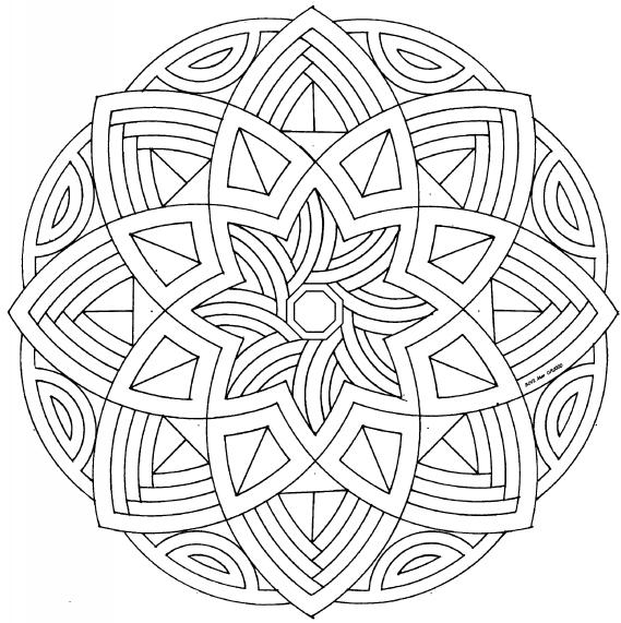 Colorear mandalas: arte-terapia | Elsecreto\'s Blog