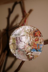 Gifted handmade ornament