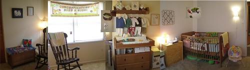 Baby room panorama