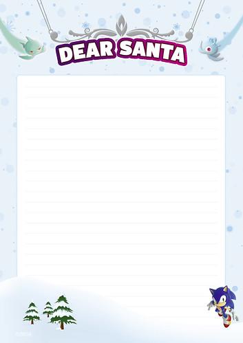 Dear Santa 1 - English