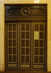 Elevator door at Grand Central