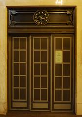 Elevator door at Grand Central