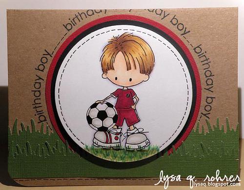 Soccer Boy bday