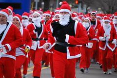 Flint Santa Run 2010