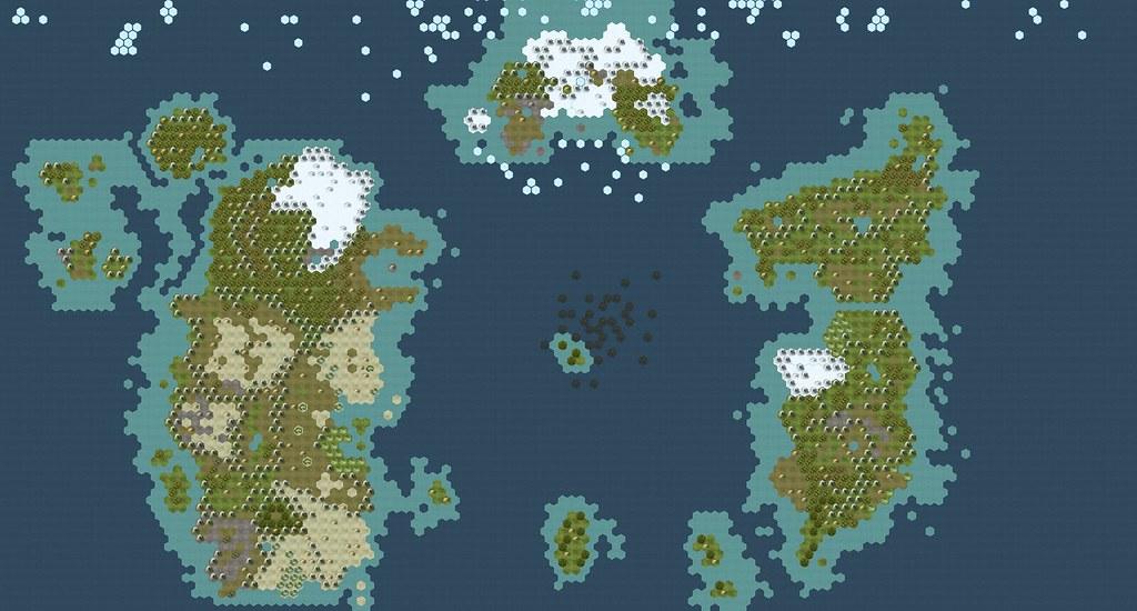 World of Warcaft: Map of Azeroth | CivFanatics Forums