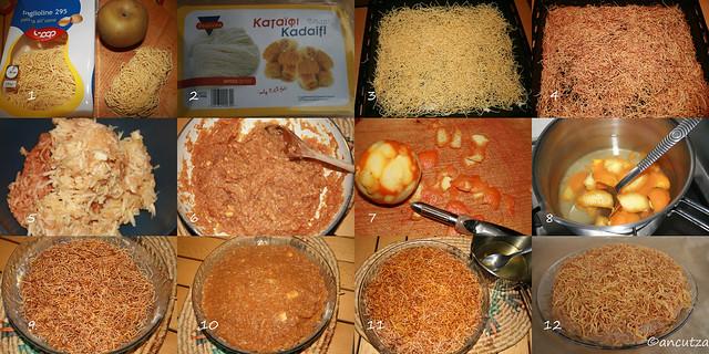 Come preparare kataif ricetta con foto