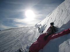 Tignes - Serenity on the slope () Tags: sun snow ski alps alpes soleil peace calm serenity neige tignes  slope calme paix piste  srnit  serein