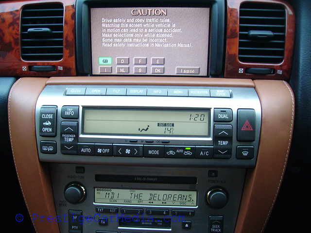 Lexus SC430 iPod Integration0166