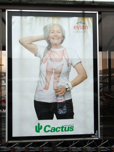 Evian Ad in Luxembourg