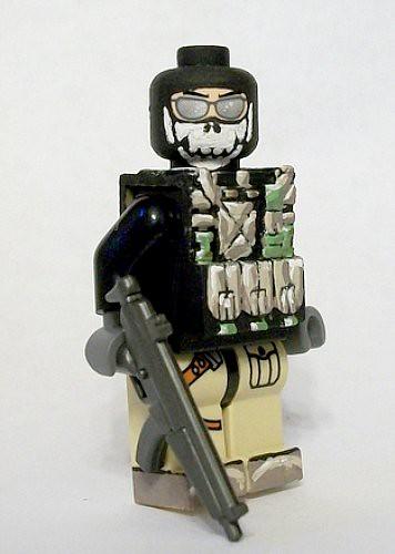 Ghost custom minifig