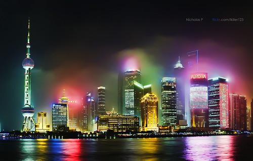 Shanghai | Hazy Lujiazui - PuDong, Shanghai