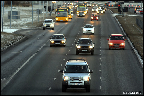 Reykjavik rush hour
