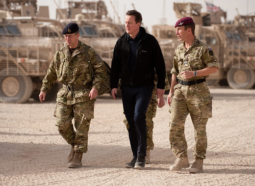 David Cameron visiting troops in Afghani by isafmedia, on Flickr