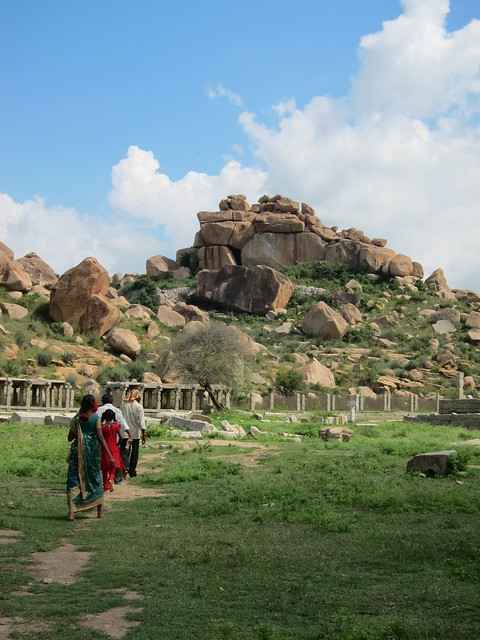 Family outing in Hampi