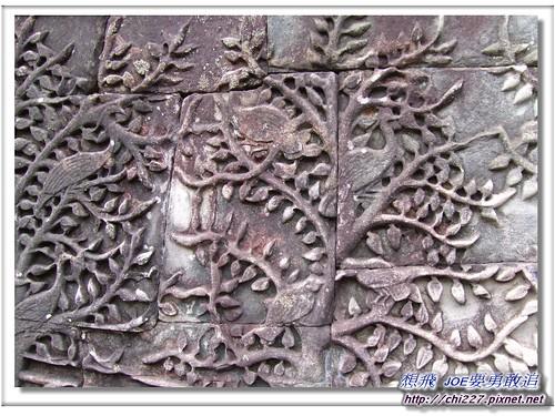 吳哥城-菩提樹雕刻
