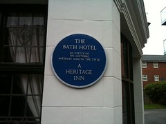 Photo of Bath Hotel, Sheffield blue plaque