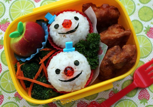 A Few Good (Snow)Men Bento