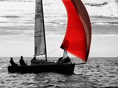 Red Rules 2 (DesdemonaAcida) Tags: vela regata santamarinella sngm