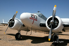 Beechcraft UC-45J Expeditor, Pima Air & Space Museum ((Barry) Griffiths) Tags: museum vintage space aircraft air transport pima beechcraft expeditor uc45j
