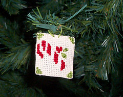 albero 5 (LaPaTs) Tags: christmas cross stitch ornament