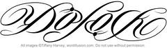 """""""Diplock"""" Ambigram"""