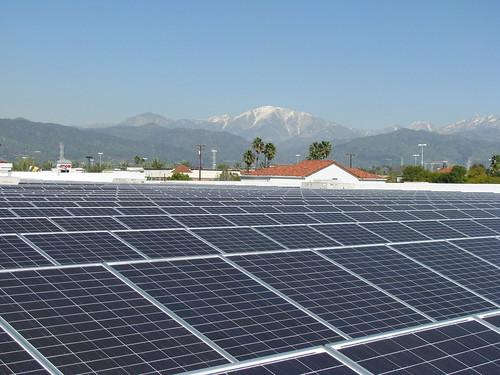 Solar on Covina Walmart