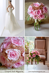 Romantic holiday wedding (L'esprit Sud Magazine) Tags: pink wedding roses holiday blog holidays sweet romantic elegant bridal centerpiece couture floraldesign specialoccasions bridalbouquet onlinemagazine bridaldesign holidaywedding lespritsudmagazine holidayswedding biedermeierdesign freshflowerideas dazzlingflowerideas lespritsudmagazinebridaldesign