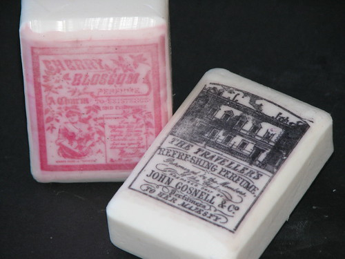 25 Days of Hand Made Gifts & Ornaments - Personalized Gift Soap 011