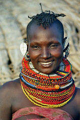 Africa - Kenia / Turkanawoman (RURO photography) Tags: africa pierced necklace african bijoux tribal piercing jewellery tribes afrika tribe kenia anthropology tribo stam africain ethnology tribu frica  turkana stammen juwelen stmme etnia tribus qunia ethnique tribue indegenous ethnie   tribalgroup turkanalake afirka  qunia   turkanagirl   turkanawoman kea    fadingcultures ethnograaf ethnografisch vanishingculture culturasperdidas indegenoustribal eaarrings verdwenenculturen tribalgirl indegenouspeople  lafric  tribus africantribaldesigns