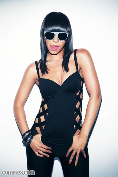 Bridget Kelly In Complex Magazine