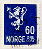stamp Norge 60 ö postzegel Noreg 60 Öre Norway armorial bearings hatchments stamps Norwegen Briefmarke lion Leone shīzi Löwe (stampolina, thx for sending stamps! :)) Tags: marka postage porto franco briefmarke stamp stamps francobollo timbres timbre sellos selo bollo blue blau bleue azzurroazul марка jíyóu 集邮 tiere animals маркаевропа yóupiàoōuzhōu noreg norge norway norwegen norvège noruega norvegia 挪威 nuówēi 挪威王国 斯堪地那维亚 scandinavie escandinavia скандинав hatchments shields flags timbreposte azzur azul azzurro 兰色 голубой postes norwegian أزرق 蓝色 ブルー синий mavi blu niebieski blå kék blauw biru สีน้ำเงิน modrý μπλε כחול 切手 नीला 푸른 màuxanh sininen frimärken noorwegen νορβηγία γραμματόσημα 邮票 postapulu