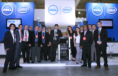 Dell Team at Oracle OpenWorld