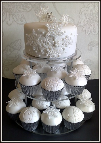Leigh & Josephine's Wedding Cake