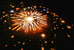 A galaxy is born! (Manreet.D) Tags: india color beautiful stars star big amazing fireworks explosion galaxy punjab diwali bang pataka