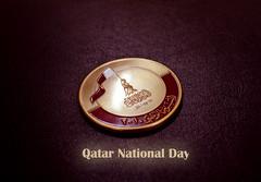 QND (qatari star) Tags: metal hands december day flag national 18 qatar 2010