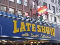 New York City, Ed Sullivan Theater (TheRealJimbot.) Tags: nyc newyorkcity newyork cbs lateshowwithdavidletterman edsullivantheater angelospizza paulshaffer