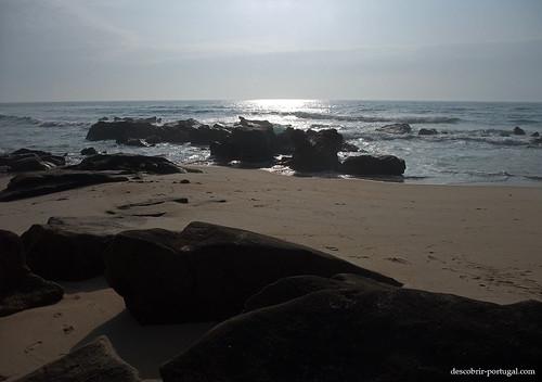 As pedras, frente à imensidão do Oceano