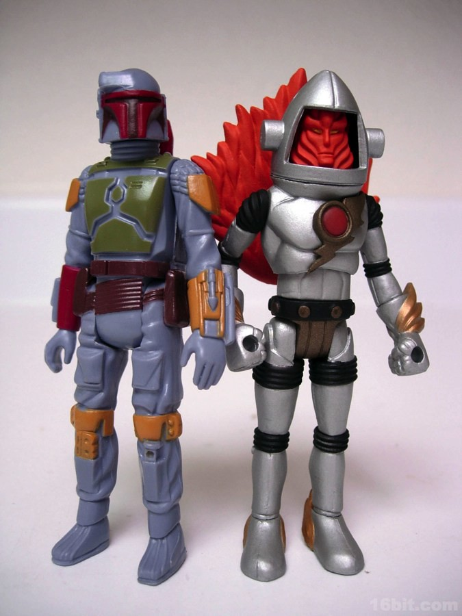 Mail-in Boba Fett plus Outer Space Men Inferno