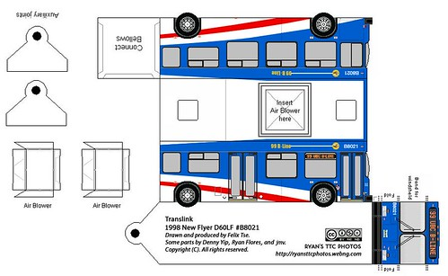New Flyer D60LF Translink 99 B Line B8021