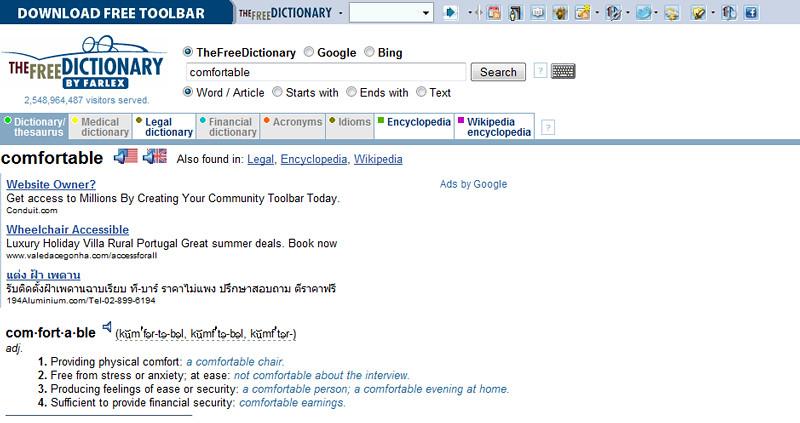 The Free Dictionary Online | ฟรีดิกชันนารีออนไลน์