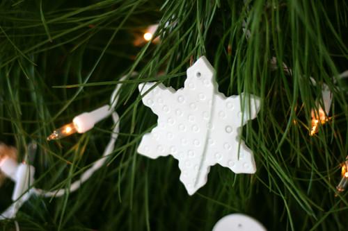 handmade snowflake