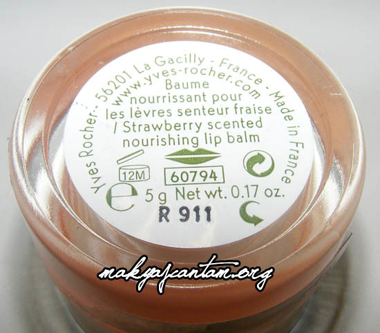 Yves Rocher Strawberry Lip Balm