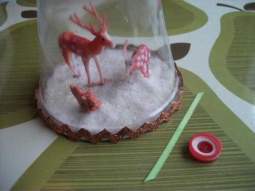 making the ribbon rosette